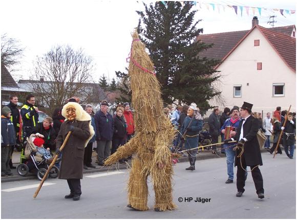 Strohbär Alte Beisdorfer Fasnet (Binsdorf)